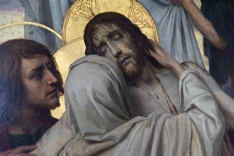 Żal duszę ściska, serce boleść czuje, gdy słodki Jezus na śmierć się gotuje…